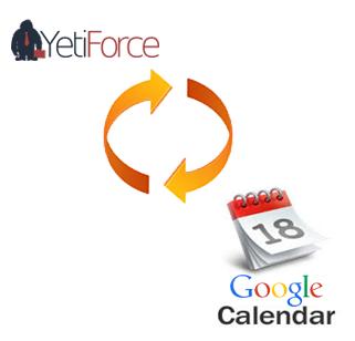 Yeti Google calendar sync integration
