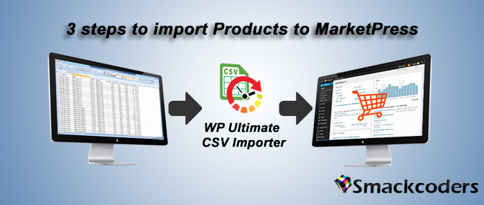 import products into marketpress