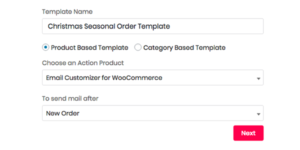 WooCommerce Product based Email Template Design