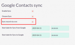 suitecrm-google-contacts-sync-automatically