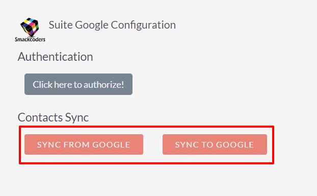 Sync in one go