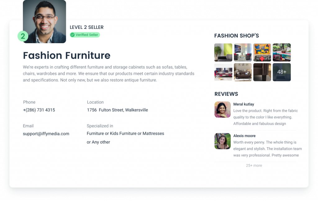 seller-profile-page-furniture-website-case-study
