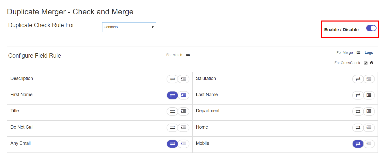 enable-disable-duplicate-merge-sugarcrm