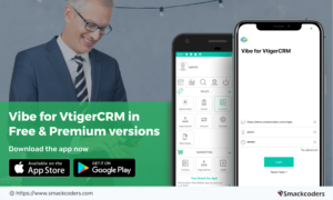 vibe vtiger crm mobile app new features added update the app now
