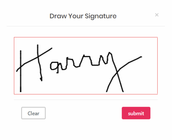 draw and embed your signature in Email Customizer for WooCommerce