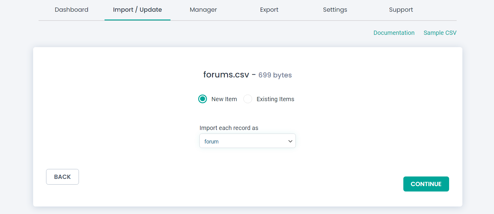 import forum data in WP Ultimate CSV Importer