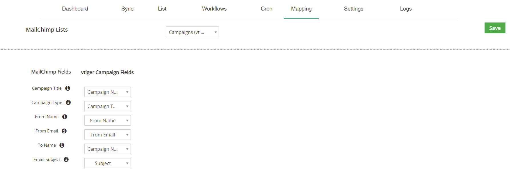Vtiger-MailChimp-Plus-campaign-field-mapping