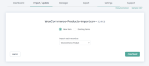 WooCommerce products import in WP Ultimate CSV Importer