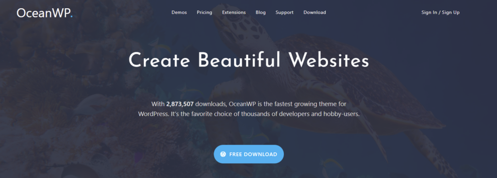 wordpress multipurpose theme oceanwp
